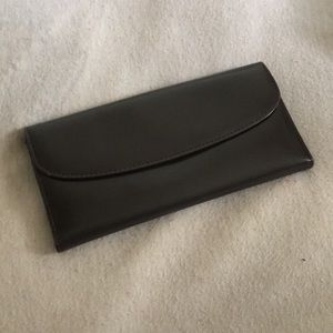 Authentic GUCCI Dark Brown & Gold Wallet